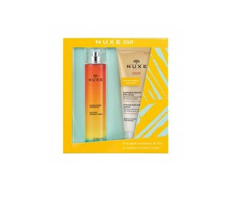 Nuxe Sun Coffret Eau Délicieuse Parfumante 100ml + Shampooing Douche Après-Soleil 200ml