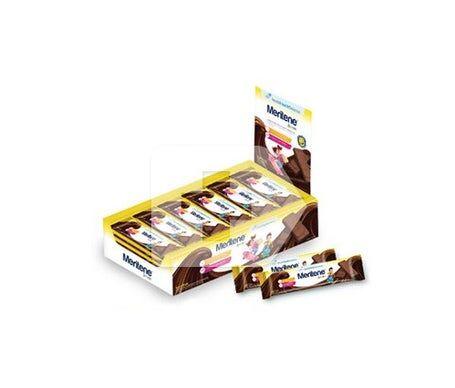 Meritene Junior barres de céréales à saveur de chocolat 30 pcs