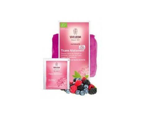 Weleda Tisane Allaitement Fenouil fruits rouges et framboise