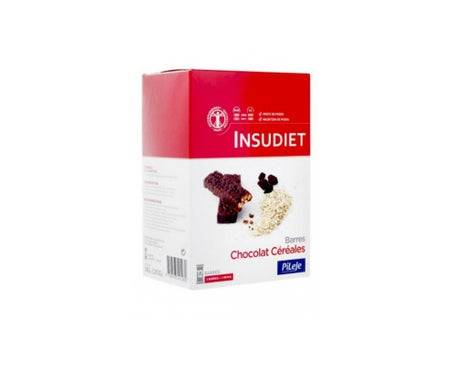 Pileje Insudiet Barre Croustillante Chocolat Céreales 12 barres