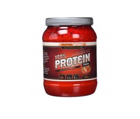 Sotya Protéine de Soja 100% Fraise 500g
