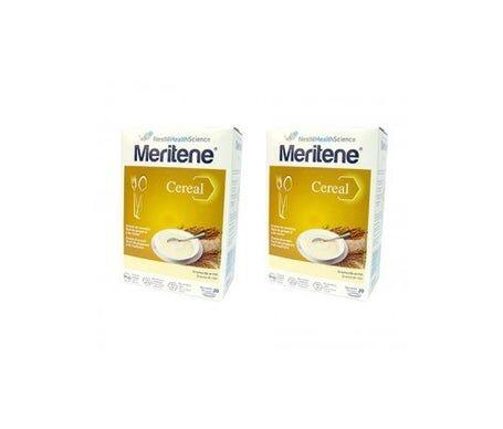 Meritene Crème de céréales Meritene de riz 300g+300g