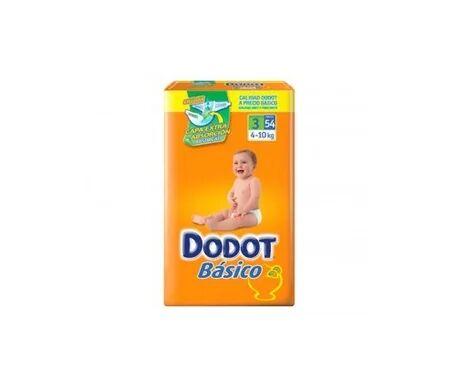 Dodot Basic couche-culotte T-3 54 pcs