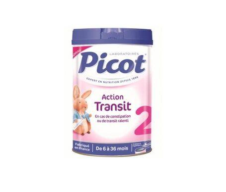 Picot Action Transit Lait 2Šme Age 900g