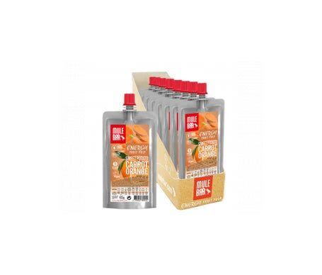Mulebar Pulpe de Fruits Vegan Patate Douce Orange Carotte 10 pulpes