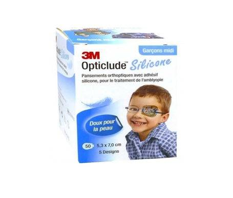 3M Opticlude Design Boy Mid 5,3Cmx7Cm