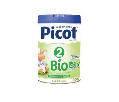 Picot Lait Infantil Bio 2 Age 800g