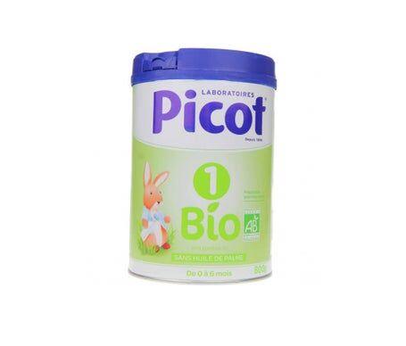 Picot Lait Infantil Bio 1 Age 800g
