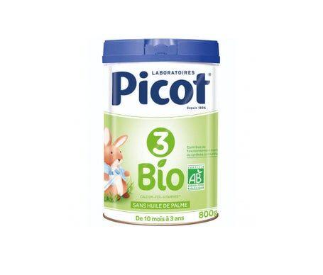 Picot Lait Infantil Bio 3 Age 800g