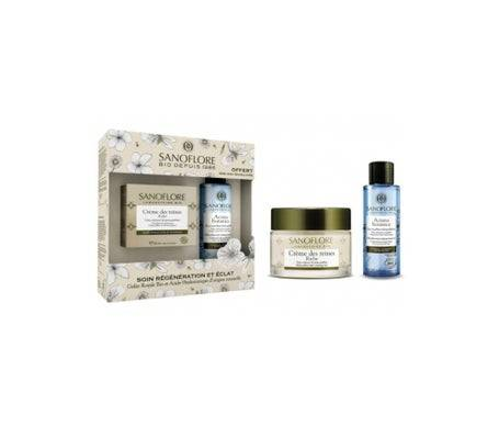 Sanoflore Coffret Crème Des Reines 40ml + Mini Eau Micellaire Aciana Botanica 50ml