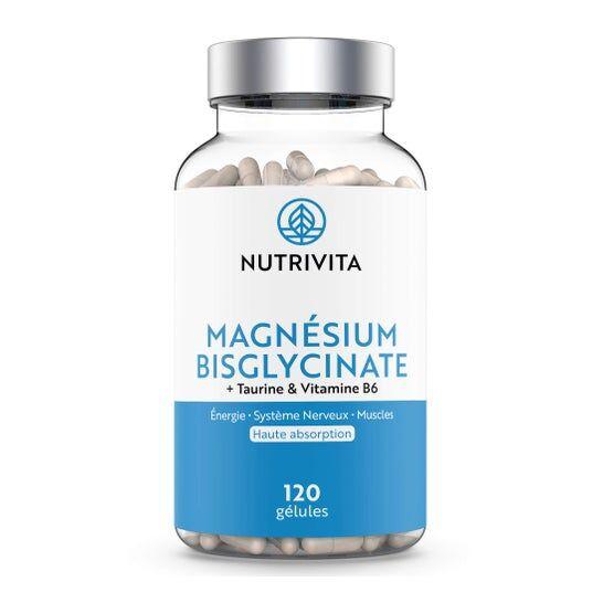 Nutrivita Magnésium Bisglycinate 120 Gélules