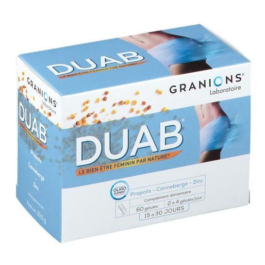 Nutrivercell Duab Complment Alimentaire Pour Les ProblŠmes Urinaires Boite De 60 Glules