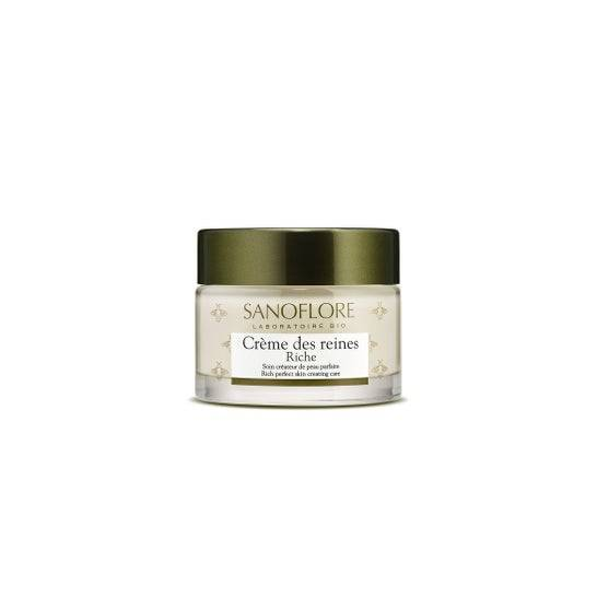 Sanoflore Crème des Reines Riche Soin Créateur De Peau Parfaite 50ml