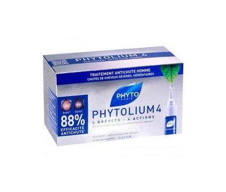 Phytolium 4 anti-chute de cheveux pour hommes 12amp