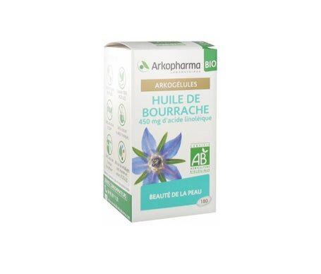 Arkopharma Arkogélules Huile de Bourrache Bio 180caps