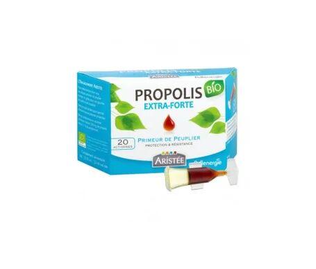 Pollenergie Propolis Marron Peuplier Bio Actidoses 20 Unités