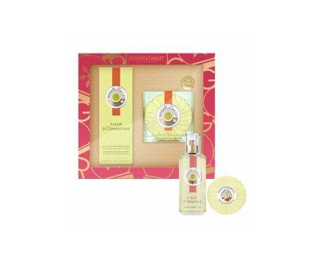 Roger & Gallet Coffret Fleur d'Osmanthus Eau Fraîche Parfumée 30ml + Savon Parfumé 100g