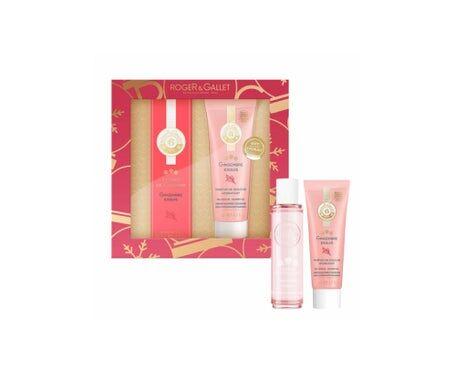 Roger & Gallet Coffret Découverte Gingembre Exquis Extrait de Cologne 30ml +Parfum de douche 50ml
