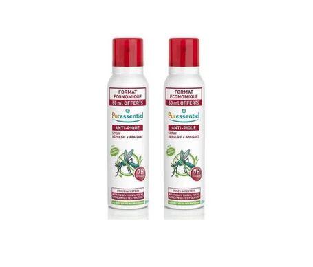 Puressentiel Anti-pique spray r'pulsif et apaisant 2x200ml