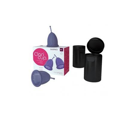 Claricup Coupelle Menstruelle Duo Taille 2 2uts