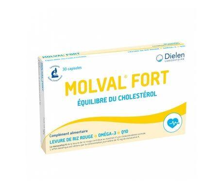 Dielen Molval Fort Levure Rouge de Riz 30 comprimés