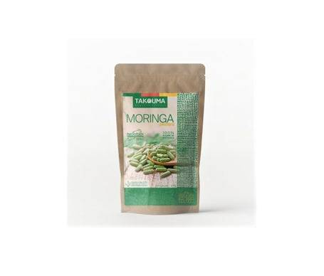 TAKOUMA Bien etre ethique Takouma Poudre de feuilles de moringa Oleifera 550 Gélules