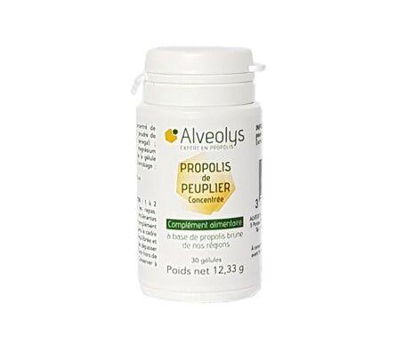 Alveolys Propolis Peuplier 30 gélules