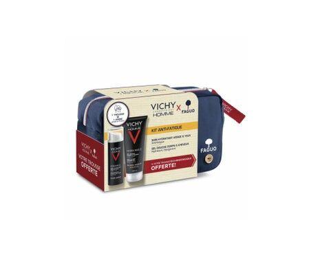 Vichy Homme Kit Anti-Fatigue Gel Douche + Soin Hydratant