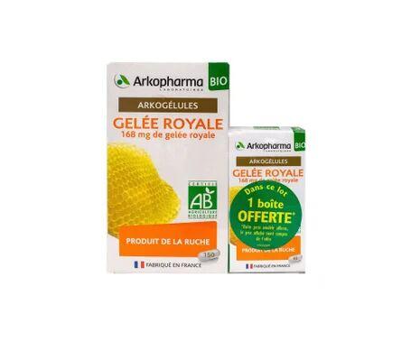 ARKOCAPSULAS Arkogélules Gelée Royale Bio 150+45 Gélules