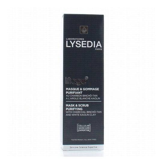 Lysedia Masque à l'argile de carbone Lysedia Liftage 100ml