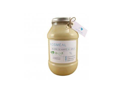 KOSMEAL Kosméal Beurre De Karité Bio Brut 1L
