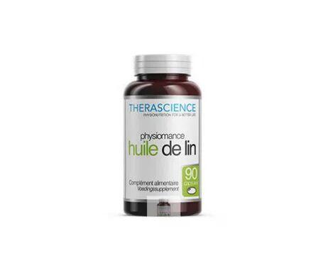 Therascience Physiomance Huile de Lin 90 capsules