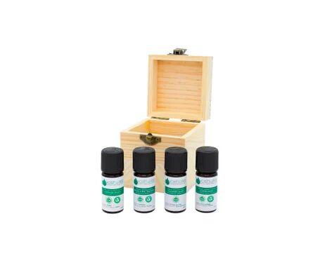 Voshuiles Coffret Aromathérapie 4 Huiles Essentielles