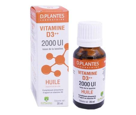 D.Plantes Vitamine D3 2000Ui 20ml