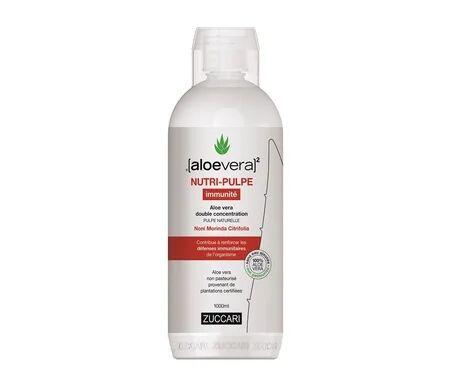 Aloe Vera 100% Aloe Vera Nutri Pulpe Immunité 1L