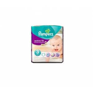 Pampers Active Fit Premium Protection Taille 3 49kg 26 couches