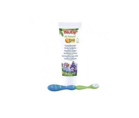 Nuby All Natural dentifrice enfant 45g + brosse à dents