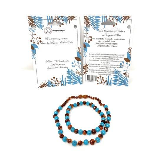 IRREVERSIBLE Irréversible Box Bijoux D'Ambre & Turquoise Bleue