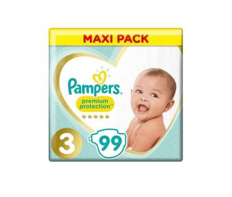 Pampers Couch Pampers Prem Prot 3 6-10Kg99