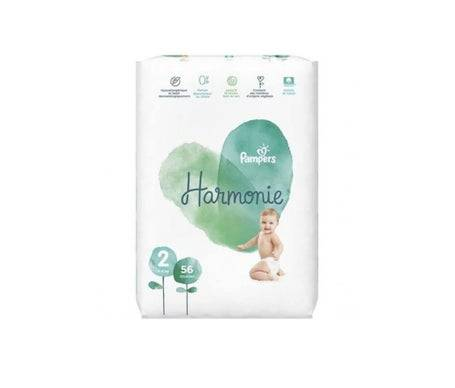 Pampers Couch Pampers Harmonie Jumbo T2 56