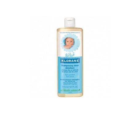 Klorane Bébé Shampooing doux démêlant 500 ml