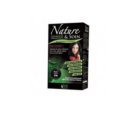 Sante Verte Santé Verte Nature & Soin Coloration Noir Intense 1N