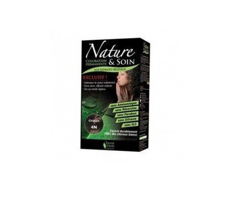 Sante Verte Santé Verte Nature & Soin Coloration Châtain 4N