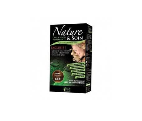 Sante Verte Santé Verte Nature & Soin Coloration Blond Foncé Doré Cuivré 6gc