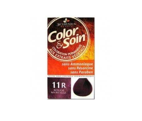 3 Chenes 3 Chênes Color & Soin® Coloration cheveux Rouge Myrtille 11R