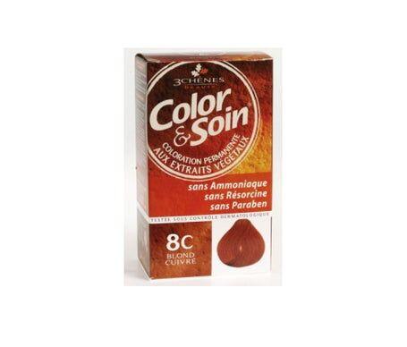 3 Chenes 3 Chênes Color & Soin Coloration Blond Cuivré 8C