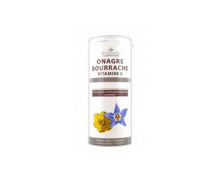 3 Chenes 3 Chênes Onagre Bourrache Vitamine E 150 capsules