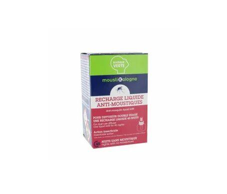 Marque Verte Moustikologne Recharge Liquide Anti moustiques 33mL