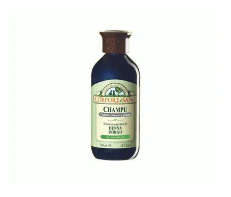 Corpore Sano Corpore Healthy shampooing henné cheveux blancs 300ml