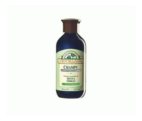Corpore Sano Corpore Healthy shampooing henné cheveux blancs 300ml